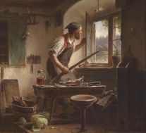 1200px-Karl_von_Enhuber_Der_wachsame_Schuster_1861