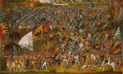 1533, Melchior Feselen, Schlacht v. Alesia. ARTOTHEK-002402 kl 1 untere Hälfte