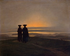 GJ-10005;0; Friedrich, Caspar David. Sunset (Brothers).