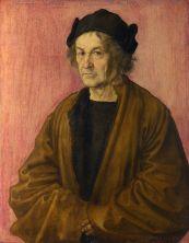 Albrecht-Dürer-Portrait-of-Dürers-Father-at-70