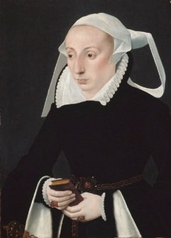 aw 1560 Woman with a Prayerbook, Barthel Bruyn the Younger, Cologne