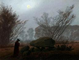 Caspar-David-Friedrich-A-Walk-at-Dusk