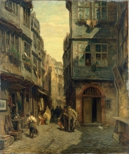 Frankfurt_Am_Main-Anton_Burger-Judengasse_in_Frankfurt_am_Main-1883