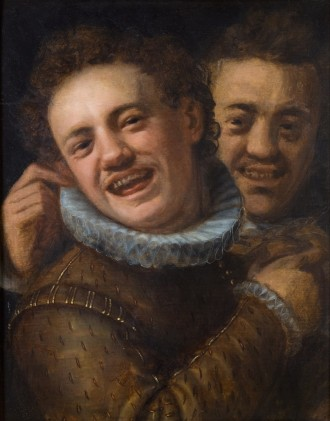 Hans_von_Aachen_-_Two_Laughing_Men_(Self-portrait)