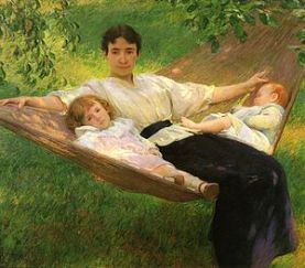 Joseph_DeCamp_The_Hammock_1895_cropped