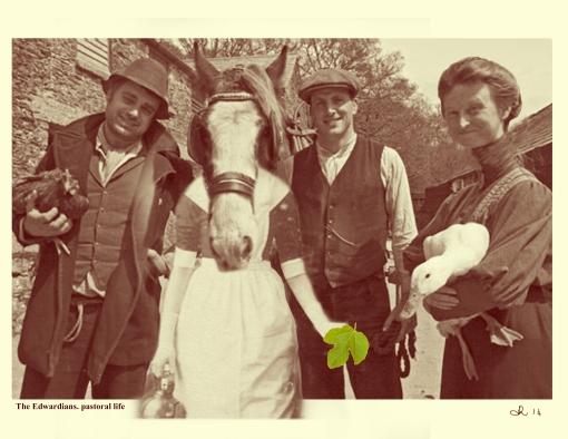 The Edwardians. pastoral life2