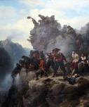 1851_Lessing_Schuetzen_am_Engpass_anagoria