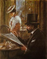 190px-Lesser_Ury_Im_Cafe_Bauer_1898