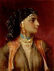 gustav-karl-ludwig-richter-beauté-égyptienne