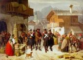 heinrich-franz-gaudenz-von-rustige-die-gefangennahme-des-andreas-hofer-durch-bayrische-füseliere