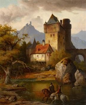 heinrich-franz-gaudenz-von-rustige-rheinburgen