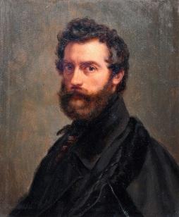 Heinrich_Pommerencke_-_Porträt_des_Malers_Karl_Begas_d._Ä._(Kopie_nach_dessen_Selbstbildnis_von_1848)