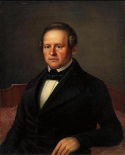 Heinrich_Pommerencke_-_Porträt_eines_wohlhabenden_Herrn_der_Biedermeierzeit