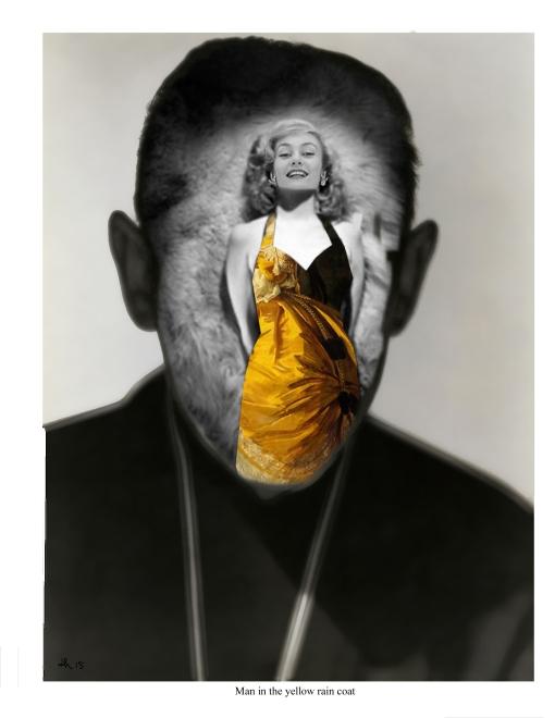 man in the yellow rain coat