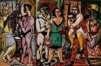 Max_Beckmann_-_'Carnival',_Oil_on_canvas,_1943