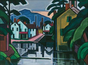 Oscar_Bluemner_-_Old_Canal_Port_-_Google_Art_Project
