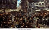 piazza-derbe-in-verona-1884-artist-menzel-adolph-friedrich-von-1815-de6xrg