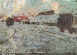 pleuer-hermann-1863-1911-germa-nordbahnhof-im-schnee-1631203