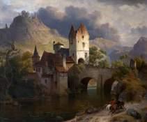 von Rustige, Heinrich Franz Gaudenz; Horseman Returning; Torre Abbey Historic House and Gardens; http://www.artuk.org/artworks/horseman-returning-146301