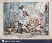 the-chamber-of-genius-1812-by-thomas-rowlandson-1756-1827-artist-etching-EX7331