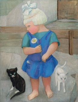 1fdb7713bea528a56da1b929e2d89394--cat-art-little-girls