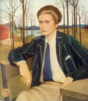 1930 Herbert von Reyl-Hanisch (Austrian artist, 1898-1937). Portrait of the Mother