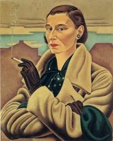 1937 Rita Angus, Self-portrait, 1937