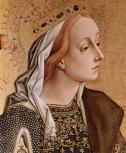 1 1400 Carlo Crivelli (Italian artist, 1430-1495) St_ Catherine of Alexandria (detail), c_ 1470