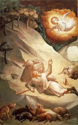 Agnolo-Gaddi-The-Annunciation-to-the-Shepherds