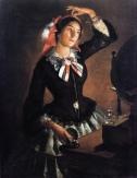 Inganni_Angelo_-_Portrait_of_Amanzia_Guérillot_at_the_Mirror