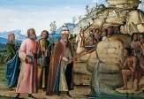 Fungai, Bernardino; St Clement Striking the Rock; York Museums Trust; http://www.artuk.org/artworks/st-clement-striking-the-rock-7753