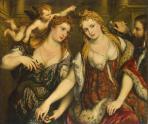 Paris_Bordone_-_Allegory_(Venus,_Flora,_Mars_and_Cupid)_-_WGA2454