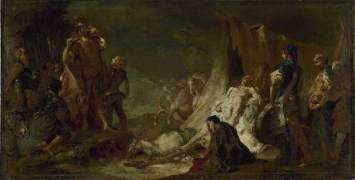 Piazzetta, Giovanni Battista; The Death of Darius; The Fitzwilliam Museum; http://www.artuk.org/artworks/the-death-of-darius-4533