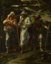 Orsi, Lelio; The Walk to Emmaus; The National Gallery, London; http://www.artuk.org/artworks/the-walk-to-emmaus-116069