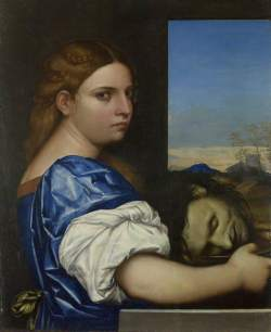 Sebastiano del Piombo; The Daughter of Herodias; The National Gallery, London; http://www.artuk.org/artworks/the-daughter-of-herodias-115533