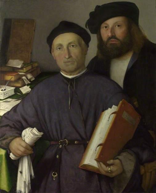 Lotto, Lorenzo; The Physician Giovanni Agostino della Torre and his Son, Niccolo; The National Gallery, London; http://www.artuk.org/artworks/the-physician-giovanni-agostino-della-torre-and-his-son-niccolo-115795