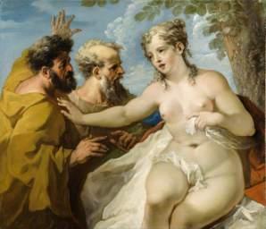 Pellegrini, Giovanni Antonio; Susannah and the Elders; National Trust, Hinton Ampner; http://www.artuk.org/artworks/susannah-and-the-elders-216982