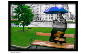 smallA Rainy Day In Moscow