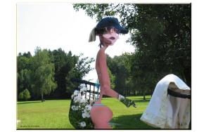 smallGirl in the short grass